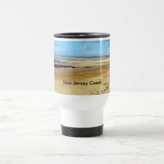 New Jersey Coast, NJ Stainless Steel Travel Mug