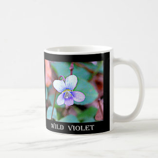 New Jersey Common Violet Basic White Mug