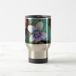 New Jersey Common Violet Travel Mug
