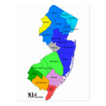 New Jersey Counties in Colour