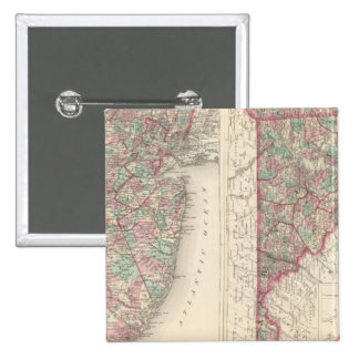 New Jersey, Delaware, and Maryland 15 Cm Square Badge