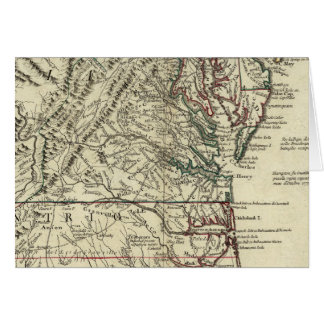 New Jersey, Delaware, Virginia, North Carolina Card