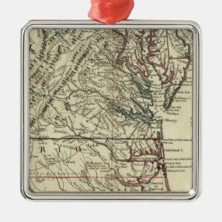 New Jersey, Delaware, Virginia, North Carolina Christmas Ornament