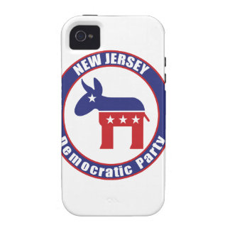 New Jersey Democratic Party iPhone 4/4S Cover