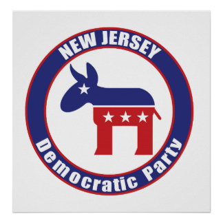 New Jersey Democratic Party Posters