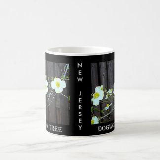 New Jersey Dogwood Basic White Mug