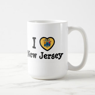 New Jersey Flag Mugs
