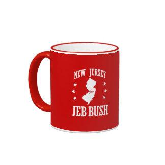 NEW JERSEY FOR JEB BUSH RINGER MUG
