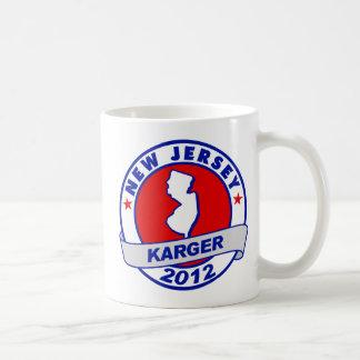 New Jersey Fred Karger Basic White Mug