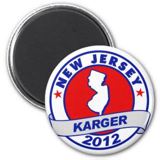 New Jersey Fred Karger Fridge Magnet