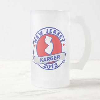 New Jersey Fred Karger Coffee Mugs