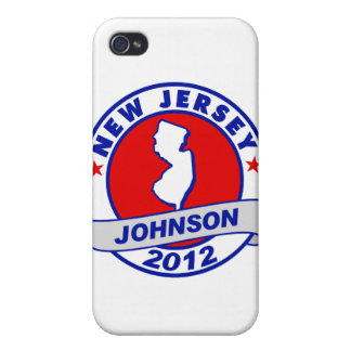 New Jersey Gary Johnson Cases For iPhone 4