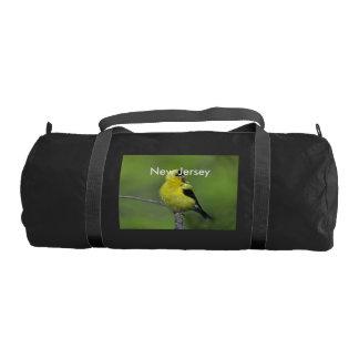 New Jersey Goldfinch Gym Duffel Bag