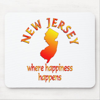 NEW JERSEY Happiness Mousepad