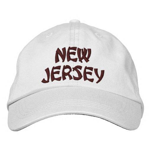 NEW JERSEY HAT BASEBALL CAP