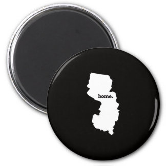 New Jersey Home 6 Cm Round Magnet