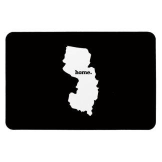 New Jersey Home Rectangular Photo Magnet