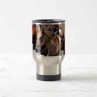 New Jersey Horse Stainless Steel Travel Mug