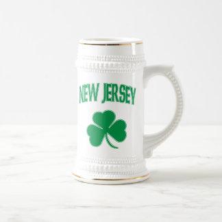 New Jersey Irish 18 Oz Beer Stein