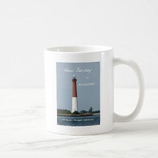 New Jersey is Awesome - Barnegat Lighthouse Basic White Mug