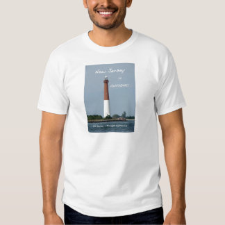 New Jersey is Awesome - Barnegat Lighthouse Tshirts