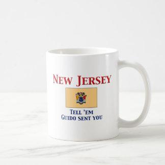 New Jersey Motto Basic White Mug