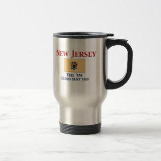 New Jersey Motto Stainless Steel Travel Mug