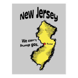 New Jersey NJ US Motto We Can t Pump Gas Post Cards