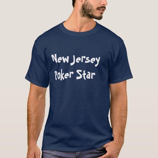 New Jersey  Poker Star T-Shirt