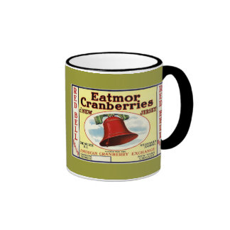 New Jersey Red Bell Cranberry Coffee Mug