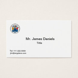 New jersey business cards business card printing zazzle uk new jersey seal business card reheart
