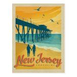 New Jersey Shoreline Postcard