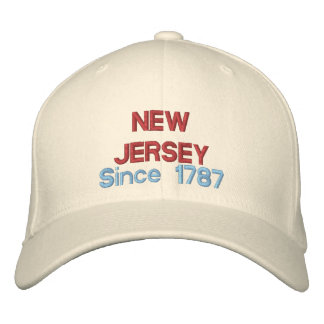 New Jersey Since 1787 Embroidered Cap