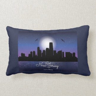 New Jersey Skyline Lumbar Cushion