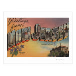 New Jersey (State Capital/Flower) Post Cards