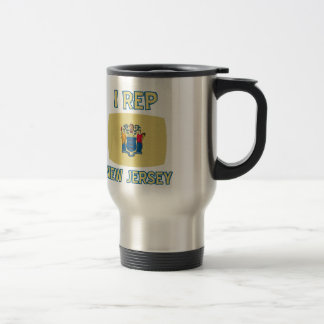 New Jersey state  Designs Stainless Steel Travel Mug