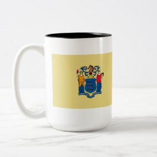 New Jersey State Flag Two-Tone Mug