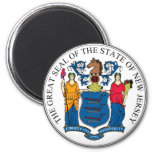 New Jersey State Seal Magnet