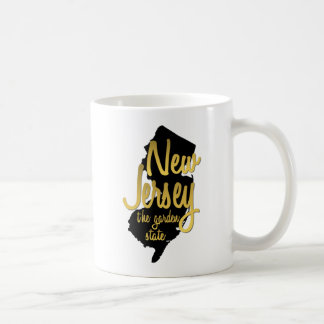 New Jersey - The Garden State Basic White Mug