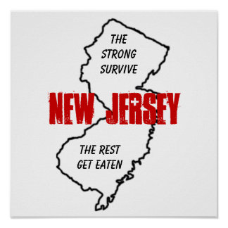 New Jersey: the strong survive, the rest get eaten Poster