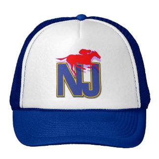 New Jersey thoroughbred zip cap Trucker Hat