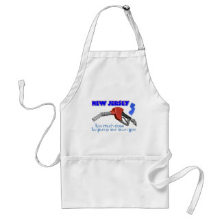 New Jersey Too Much Class to Pump Our Own Gas Aprons