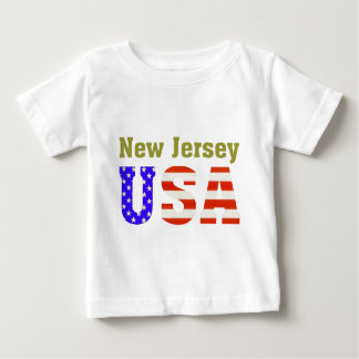 New Jersey USA! Baby T-Shirt