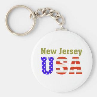 New Jersey USA! Key Ring