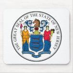 New Jersey, USA Mousepads