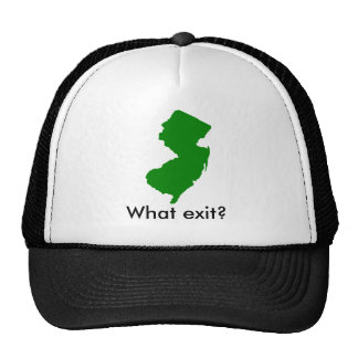 new-jersey, What exit? Mesh Hat