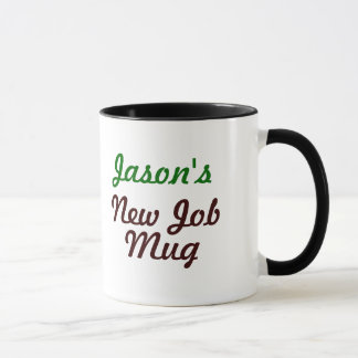New Job Office Mug