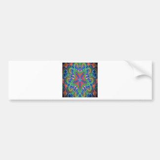 New kaleidoscope design image bumper stickers