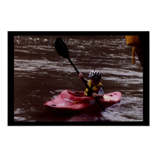 New Kayaker Poster