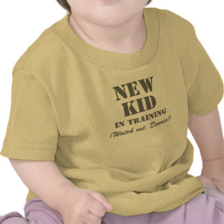 New Kid in Training Donnie - Kids T-shirt
